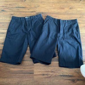 Set of 2 Old Navy Khaki Shorts